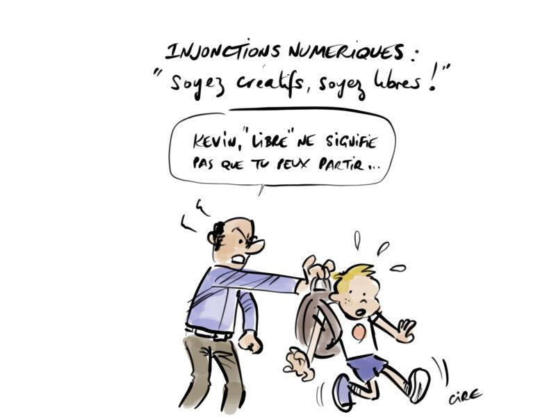 Injonctions numériques par Cire